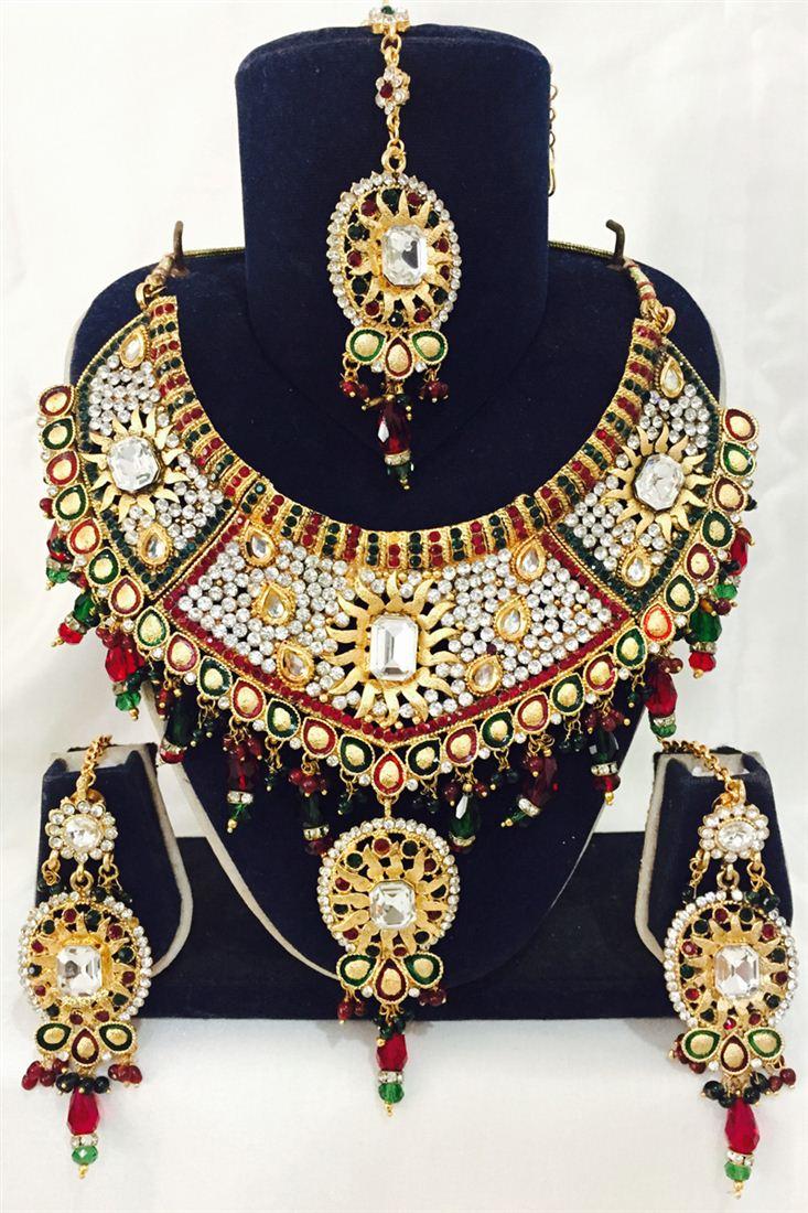 Traditional Festive Wear Designer Necklace Set