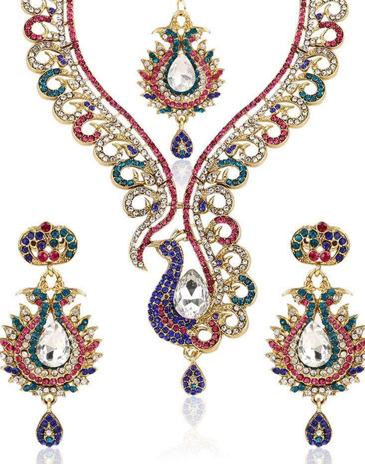 Leonine Designer Imitation Necklace Set